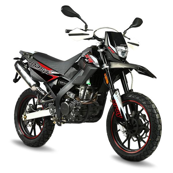 Zoom sur la moto Masai X Ray 125cc au prix complètement fou