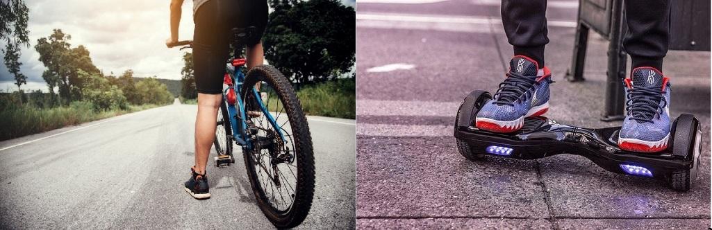 Entre l'hoverboard et le vélo électrique, que choisir ?
